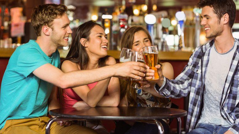 pub indoor drinking