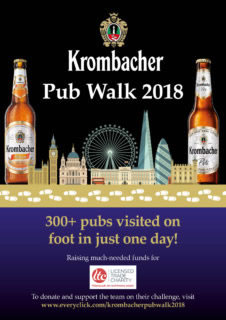 Krombacher Charity Pub Walk